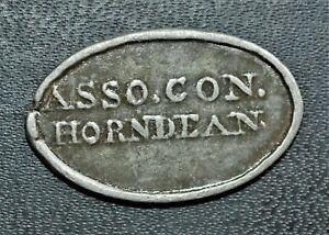 1807 Horndean, Berwickshire, Scotland - Communion Token