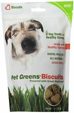 Pet Greens All Natural Dog Biscuits New