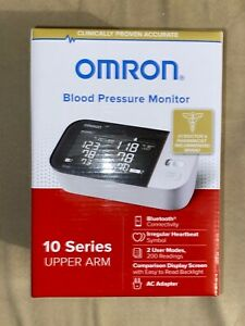 NEW Omron 10 Series Upper Arm Blood Pressure Monitor BP7450 FAST FREE SHIPPING