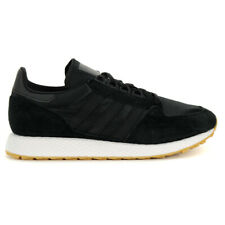 Adidas Men's Forest Grove Core Black/Gum Shoes CG5673 NEW