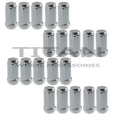 "20 Chrome Truck Lug Nuts | 9/16"" X 18 