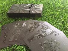 BLACK DIAMOND UNIQUE DESIGN POKER PLAYING CARD HIGH QUALITY