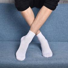 6 Pares calcetines deportivos. Largos. Algodón. Blanco.Talla 40/46. Sports socks