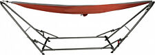 Hammock Lounger with Stand Universal Frame Steel Outdoor Garden Patio Portable