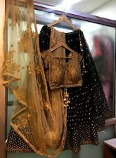 Wedding bridal wear Lehenga Designer Indian Latest Bollywood lengha choli saree