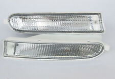 Toyota RAV 4 RAV4 1994-1996 front white signal indicators PAIR Left Right