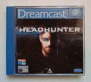 Headhunter Sega Dreamcast 2001 complet