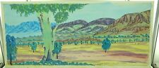 SCARCE VERY LARGE CONLEY EBATARINJA 1959-2013 HERMANNSBURG WATERCOLOUR ON BOARD.