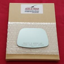 Mirror Glass + Adhesive For 280Zx, Pulsar Nx Passenger Side Replacement-Blue Tin