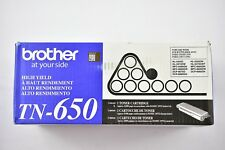 Brother Genuine TN650 High Yield Laser Toner HL-5340D MFC-8480DW DCP-8070D...
