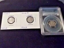 2012-P MINT STATE/ 2012-D MINT STATE / 2012-S PCGS PR69 DCAM ROOSEVELT DIMES