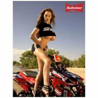 "Sexy Beautiful Vintage Biker Girl Photo Fridge Magnet 2""x 3"" Collectibles #10"