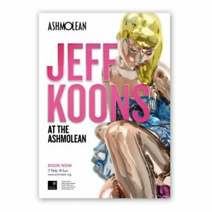 Rare! Jeff Koons exhibition poster! (Large model) contemporary art