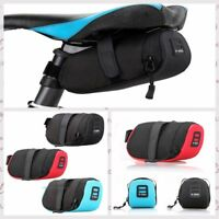 Bicycle Waterproof Storage Saddle Bag Seat Outdoor Bike Cycling Tail Rear Pouch