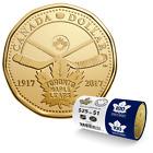 CANADA 2017 New Loonie 100th Anniversary Toronto Maple Leafs (BU From roll)
