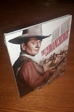 THE COMANCHEROS Blu-ray digibook rare US import region a free abc (John Wayne).