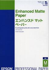 Papier Epson Enhanced Matte Paper A4 250 feuilles 192g S041603