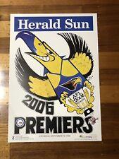 West Coast Eagles Herald Sun 2006 Premiers Weg Poster