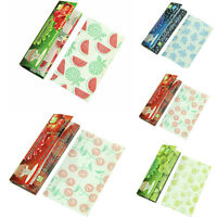 New 5 Fruit Flavored Smoking Cigarette Hemp Tobacco Rolling Papers 250 Leaves