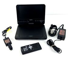 "Sony DVP-FX820 Portable CD/DVD Player 8"" w/ Wall Adapter, Car Adapter, Remote"
