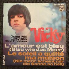 7'Vicky Leandros  >L'amour est bleu/Le soleil...< EUROVISION 1967