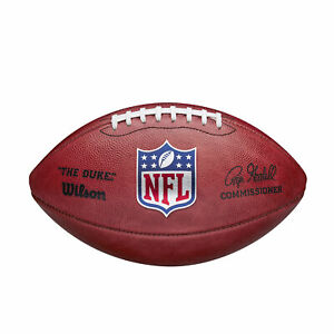 Wilson NFL Official New for 2020 Authentic Leather Duke F1100 Game Football