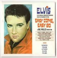 """ELVIS PRESLEY CD """"EASY COME, EASY GO"""" 2015 OUTTAKES MOVIE VERSIONS + OTHER SONGS"""