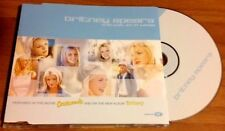 BRITNEY SPEARS / I'M NOT A GIRL...NOT YET A WOMAN - CD single (EU 2001 + book)