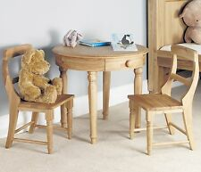 Felix Childrens Bedroom Furniture Oak Play Table Desk And Chairs Set