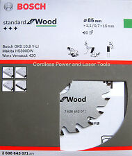 Bosch 85mm Circular Saw Blade GKS10.8V and Makita, Worx, Rockwell 2 608 643 071