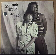 ASHFORD & SIMPSON Real Love LP OOP mid-80's pop-R&B