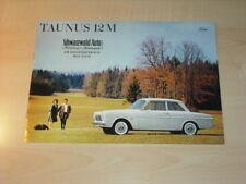 28558) Ford Taunus 12 M Prospekt 196?