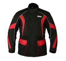 Blousons noirs tous avec doublure thermique pour motocyclette taille XL