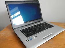 Toshiba L450D Windows 10 Computadora portátil - 2.1GHz - 320GB - 4GB-Buen Estado