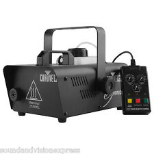 Chauvet Hurricane 1200 1180W Smoke Fogger Fog Machine DJ Stage + Timer Remote