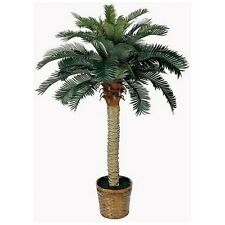 Fake Palm Tree Decor Home Tropical Sago Silk Plant Indoor Outdoor Garden