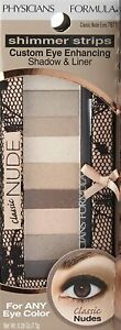Physicians Formula Shimmer Strips Eye Shadow & Liner Classic Nudes Eyes 7871