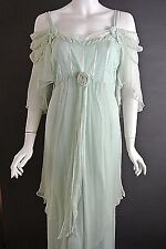 Romantic Vintage Style Dresses Nataya Dress Mint Green Formal Plus 1X Victorian