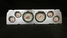 1964 1965 1966CHEVY TRUCK 6 GAUGE DASH CLUSTER SHARK