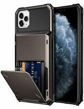 Vofolen Case for iPhone 11 Pro Max Case Wallet 4-Card Holder ID Slot Flip Door H