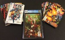 SUICIDE SQUAD #1 CGC 9.2 Comic Book #0-30 FULL SERIES Harley Quinn DC New 52