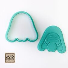 Star Wars - Kylo Ren cookie cutter - 1pcs  - Plastic 3d printed (PLA)