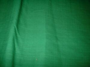 WOW NATURAL FIBRE EMERALD GREEN  GD WEIGHT FAB QUALITY  LINEN BLEND FABRIC 140CM