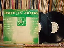 QUEEN - Live Killers KOREA 2 LP set Green Diff Members CVR