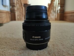 Canon EF-S 35mm F2.8 Macro IS USM - Mint Condition and Boxed