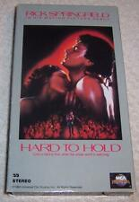Hard to Hold VHS Video Rick Springfield