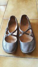 Chaussure Ballerine babies grise CLARKS taille 5 soit 38 francais