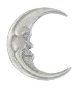 Man In The Moon Pewter Tie, Hat or Lapel Pin Badge Brooch Gift Present511