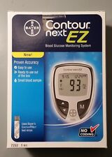 Bayer Contour Next Ez Meter Glucose Monitor Kit