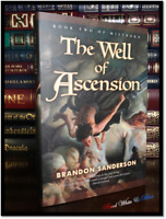The Well of Ascension ✎SIGNED by BRANDON SANDERSON New Mistborn Book 2 Hardback